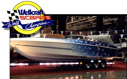 Wellcraft Scarab High Performance Boat